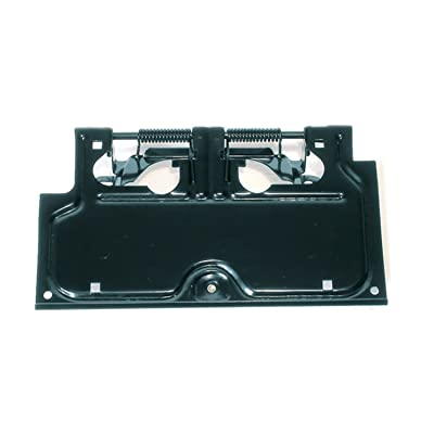 Rugged Ridge 11233.01 Black License Plate Holder: Automotive