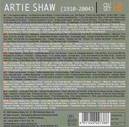 Artie Shaw Begin the Beguine 1909 2004