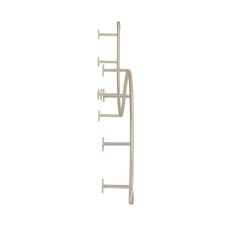 Amazon.com: Spectrum 65170 rack de pared con 9 ganchos para ...