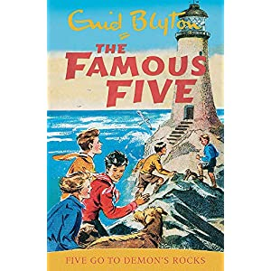 Five-Go-To-Demons-Rocks-Book-19-Famous-Five-Paperback--Illustrated-23-April-1997