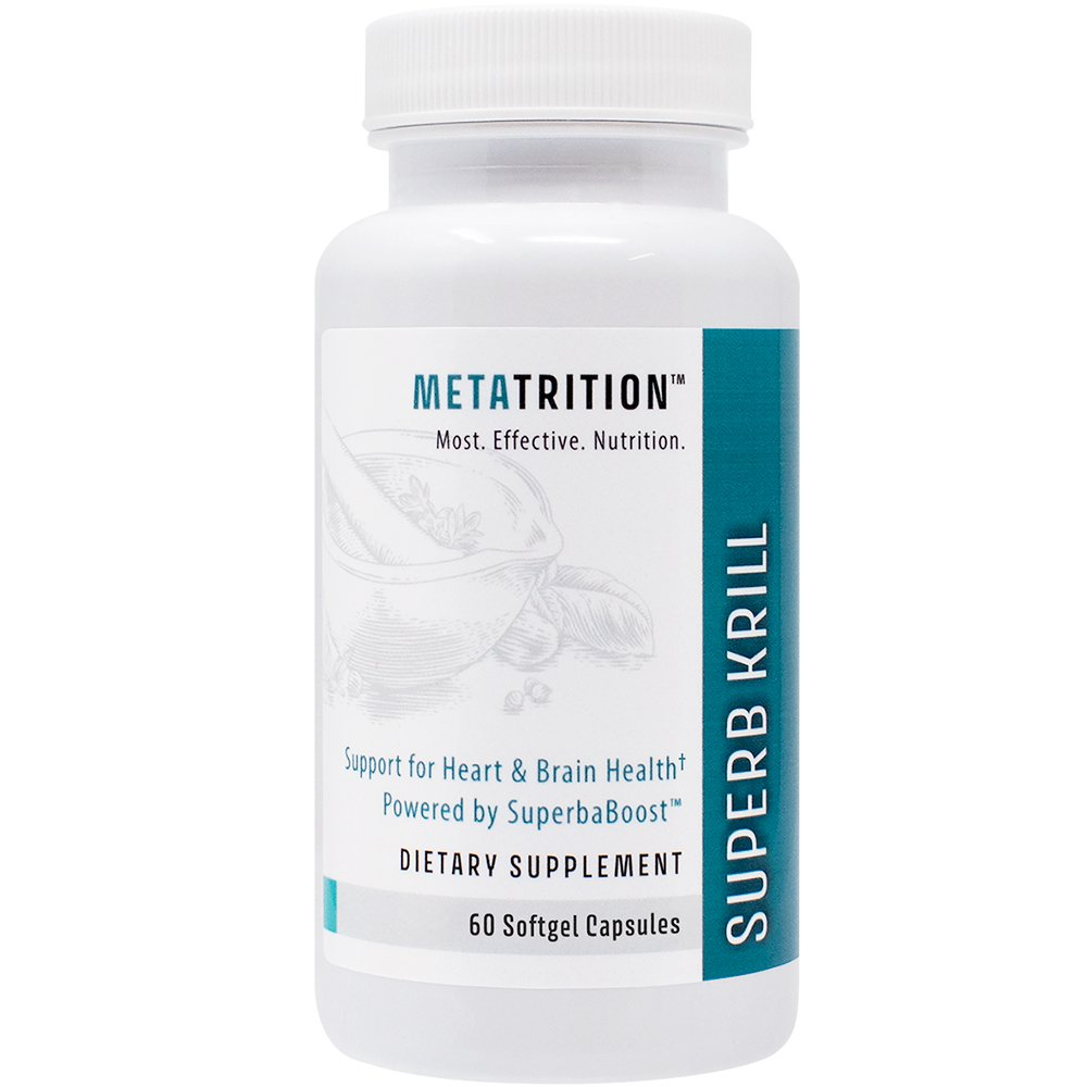 Metatrition Superb Krill Nutritional Supplements, 60 Count