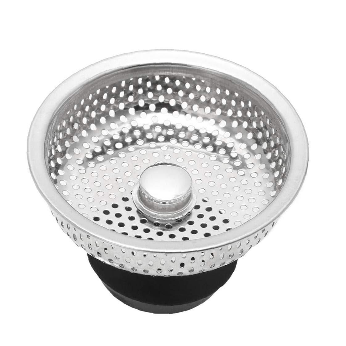 Angoter 1pc Cocina De Acero Inoxidable Fregadero Colador Filtro De Desag/üe Tap/ón