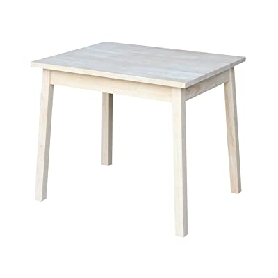International Concepts Unfinished Child's Table: Kitchen & Dining