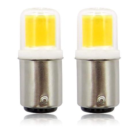 B15D Bombilla LED 230 V 3 W COB, 30 W halógeno equivalente SBC pequeñas bombillas