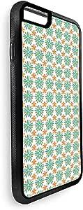 ديكالاك غطاء حماية خلفي لاجهزة ايفون 8 بلس  بتصميم زخرفة ورود