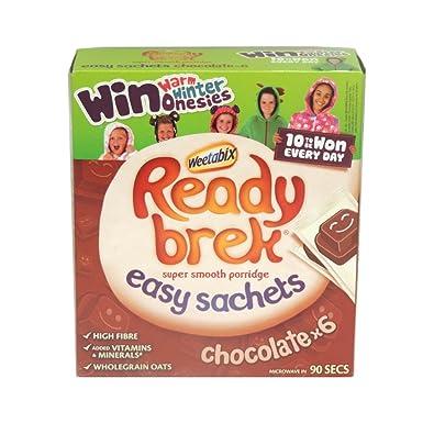 Ready Brek Sachets Chocolate 192g Amazoncouk Grocery
