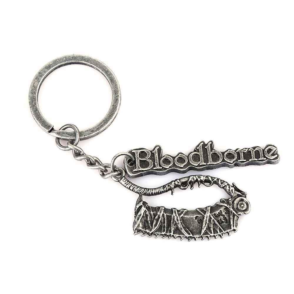 Amazon.com: Bloodborne colgante llavero accesorio para ...