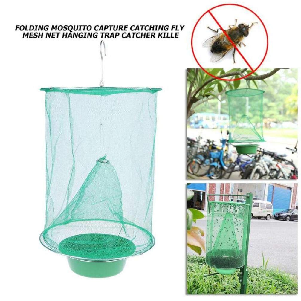 Folding Mosquito Capture-Fangen Fly Mesh-Net Hanging Falle Insekt Bug Catcher Indoor Outdoor Moskito Insektenf/änger 20#