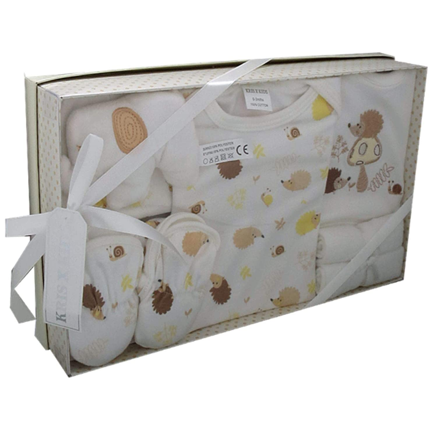 Luxury Boxed Newborn Baby 7 pcs Gift Set 0-3 Months Christmas Available in Blue Pink White Set
