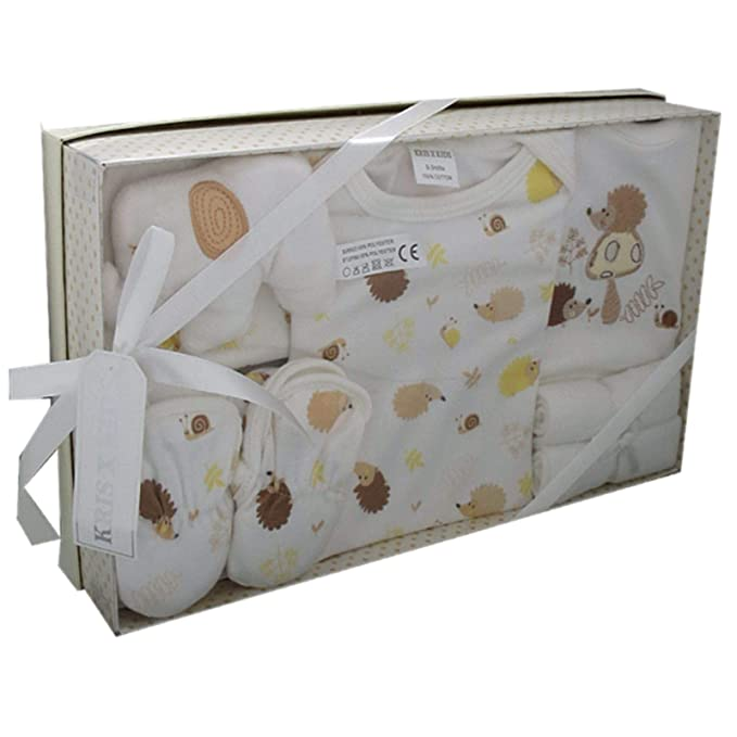 Bee Bo Lujo en Caja Regalo recién Nacido bebé 7 pcs Set 0 - 3 Meses ...