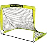 Franklin Sports Blackhawk Portable Soccer Goal, Optic Yellow, 12' x 6'
