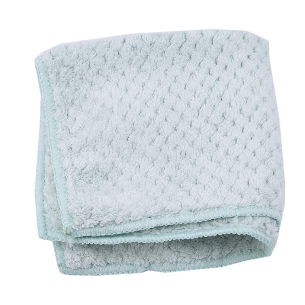 EH-LIFE Scouring Pad Clean Cloth Hot Sales Home Kitchen Sink Super Absorbent Towel Household Cleaning Tools Green