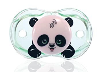 RaZbaby Keep-It-Kleen Pacifier, Panky Panda