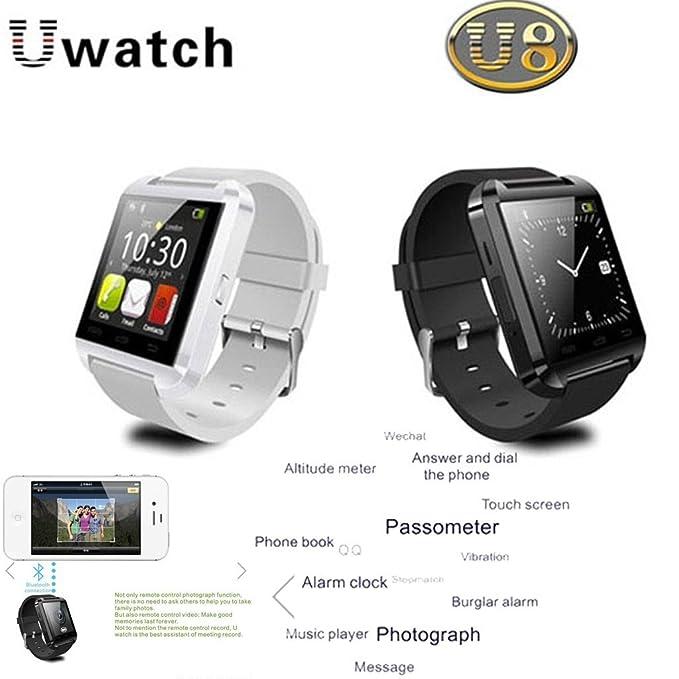 Nueva U8 SmartWatch Plus inteligente Reloj Bluetooth con más ...