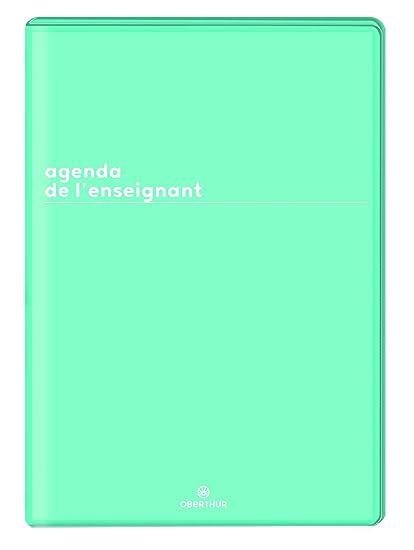 Oberthur 2019/2020 - Agenda para profesor, color verde ...
