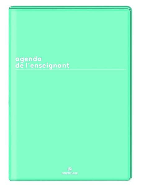 Oberthur UN - Agenda del profesor (21,5 x 30) PEFC 2019/2020 ...