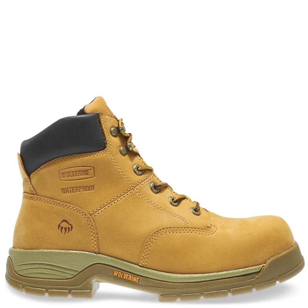5f2ba6c1a47 Wolverine Harrison Waterproof Lace-Up Steel-Toe 6