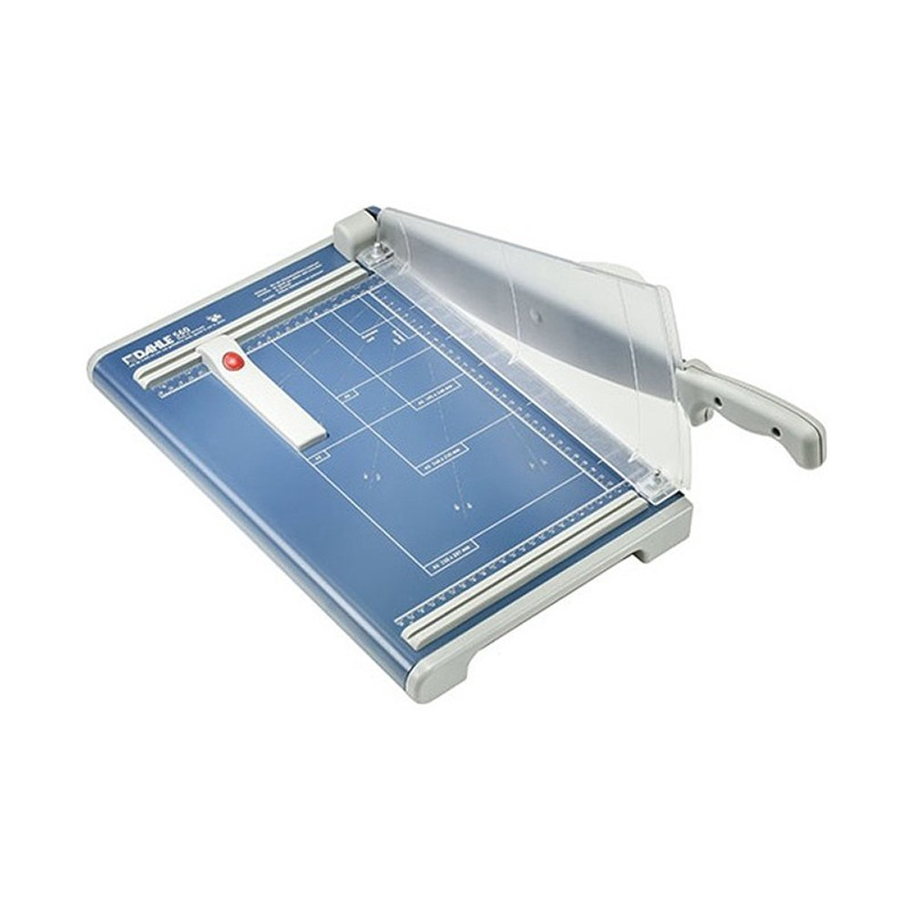 Dahle 560 13-3/8'' Cut Professional Guillotine Paper Trimmer with Fan Guard