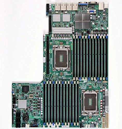 Supermicro Motherboard Ethernet (Supermicro - Socket G34-2 CPUs supported - AMD SR5690/SP5100 4 x Gigabit Ethernet onboard graphics Sever Motherboard H8DGU-LN4F+-O)