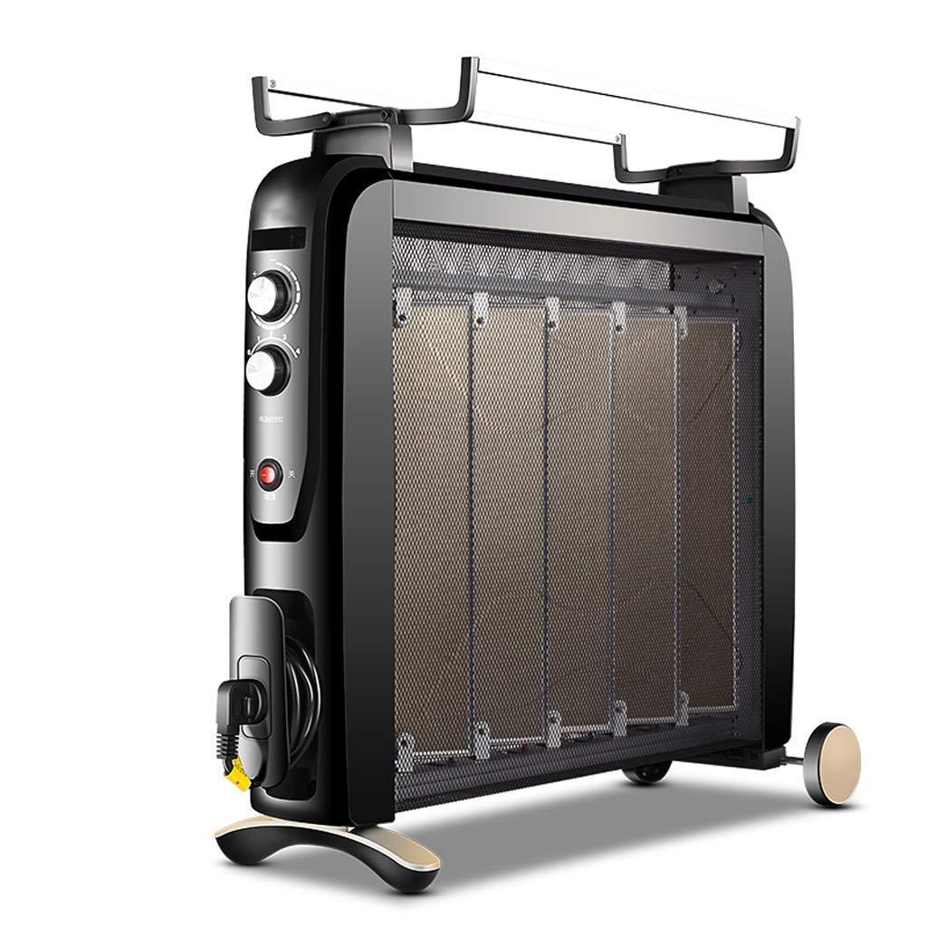 Acquisto ZBJJ Riscaldamento elettrico, Risparmio energetico domestico, Grill elettrico, Forno antincendio, Riscaldatore, 25 Metri quadri, Regolazione a quattro velocità, Velocità silenziosa, Senza luce, Assenz Prezzi offerte