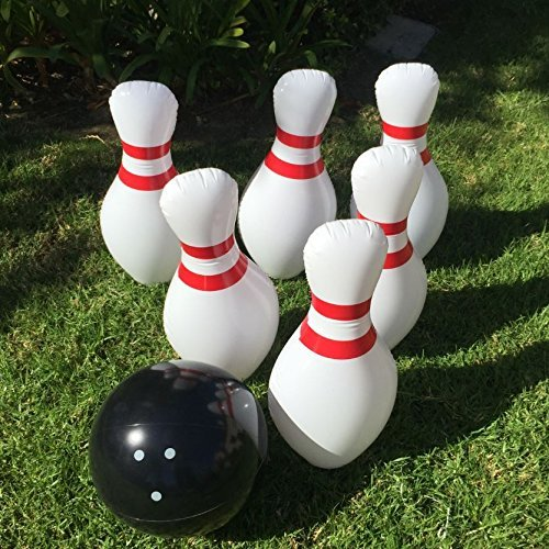 Giant Inflatable Bowling Set - I...