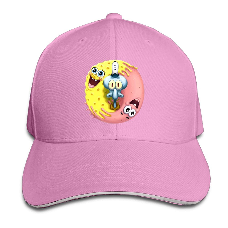 ALIIXUN2 Unisex Sponge Bob Snapback Hats / Baseball Hats / Peaked Caps