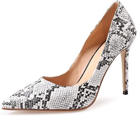 Heels Snake Print Dress Shoes