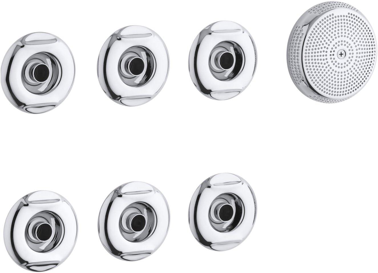 Kohler K 9696 Cp Flexjet Whirlpool Trim Kit Polished Chrome Faucet Trim Kits Amazon Com