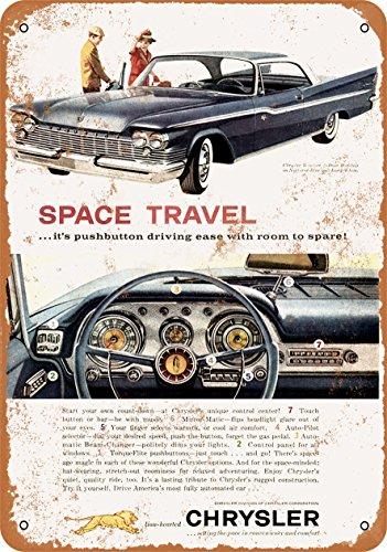 Windsor Metal Plaque (Wall-Color 7 x 10 METAL SIGN - 1959 Chrysler Windsor - Vintage Look Reproduction)