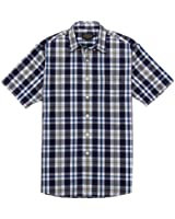 Pendleton Men's Fremont Shirt Navy/White Plaid