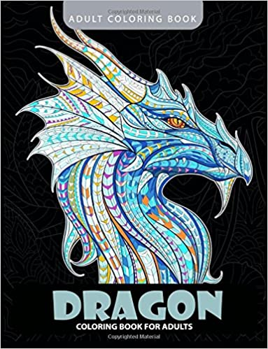 Amazon Com Dragon Coloring Book Adult Coloring Books