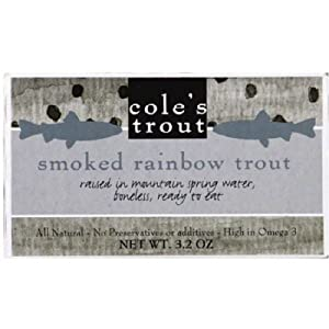 Coles Trout Smoked, 3.2 Ounce (Pack of 10)