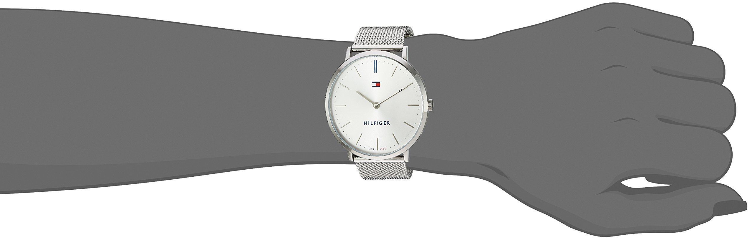 Tommy Hilfiger Women's 'Sophisticated Sport' Quartz Stainless Steel Watch, Color:Silver-Toned (Model: 1781690) by Tommy Hilfiger (Image #2)