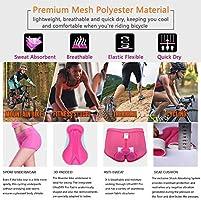 BLUESTAR, mujeres, ciclismo, ropa interior, acolchado, 3D ...