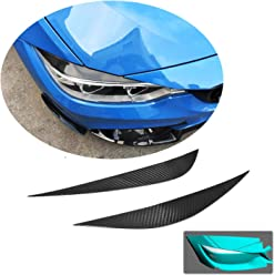 MCARCAR KIT For Audi A5 Sline S5 RS5 2017 2018 Factory CNC Moulding Front Head Lamps Cover Eyelid Light Eyebrows Fiberglass