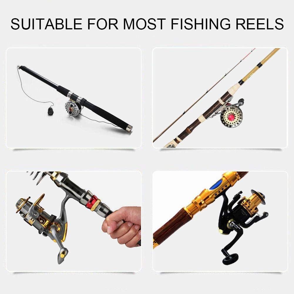 Aluminum Fishing Reel Handle Knob Metal Spinning Wheel Handle Knob for Fishing Reel Fishing Handle Knob