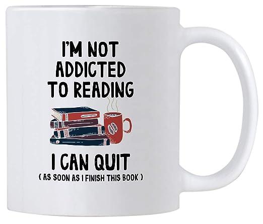 Regalos divertidos de lectura de libros. No soy adicto a la ...