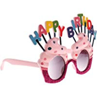 MagiDeal Novelty Happy Birthday Ice Cream Shape Party Glasses Sunglasses Fancy Dress
