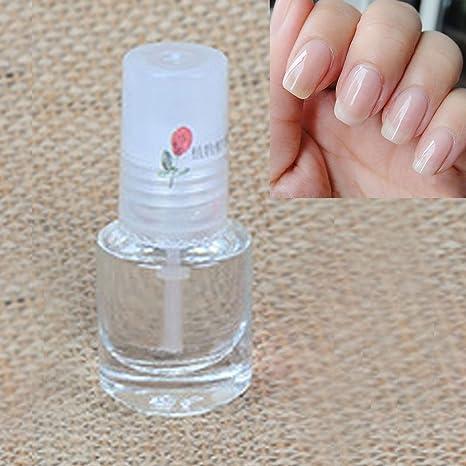 Cubierta para esmalte de uñas, transparente, capa superior, vitamina, endurecedor: Amazon.es: Belleza