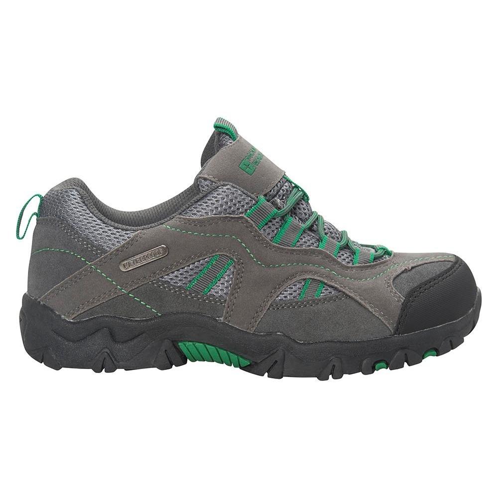 Mountain Warehouse Zapatillas Stampede para niños - Zapatillas de correr con suela de gran agarre, zapatillas impermeables, zapatillas de verano con empeine Lima 28 017204031005