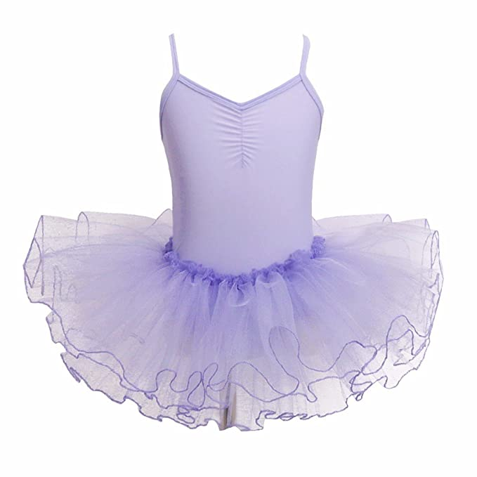 873bafde5 iEFiEL Girls  Camisole Ballet Dance Leotard Tutu Dress Skirt ...