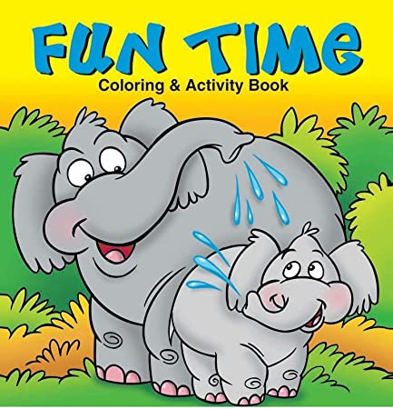 Fun Time Kids Coloring Activity Book In Bulk