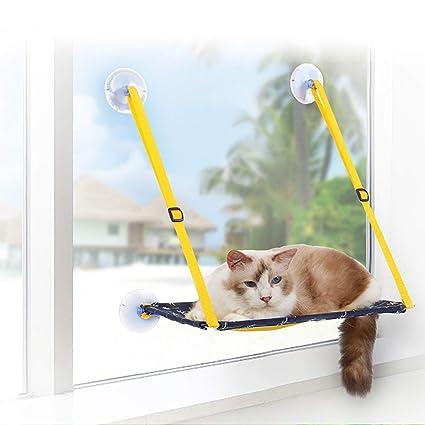 Fine Amazon Com Zhyaj Cat Window Perch Cat Window Bed Cat Andrewgaddart Wooden Chair Designs For Living Room Andrewgaddartcom