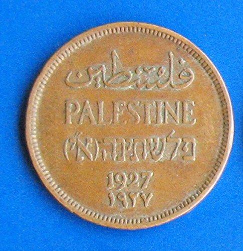 1927 Palestine One Mil Coin - Palestine Coin