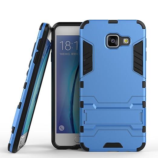 5 opinioni per MOONCASE Galaxy A3 (2016) Custodia Dual Layer Case ibrida Rigida Morbido