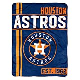 The Northwest Company MLB Houston Astros Micro Raschel Throw, One Size, Multicolor