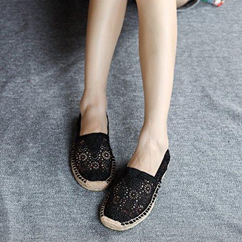 Trou Bateau Plage Casual Chic Frestepvie Loisir Mode Souple Chaussures Femme Outdoor Shoes Fille Women Eté Printemps Vacance q1Ex5HwxR