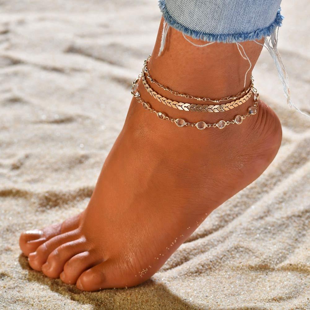 Simple Anklet. Adjustable Anklet Star Anklet Anklets For Women Star Jewelry Boho Anklet Anklet Silver Anklet Boho Anklet