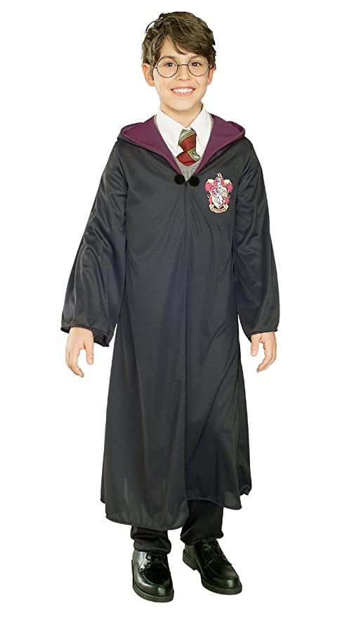 c95a33b1154a Amazon.com  Hogwarts Robe Costume - Large  Toys   Games