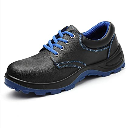 ZYFXZ Zapatos de Seguridad Calzado de algodón liviano de Alta Resistencia Superior a Tope de Invierno